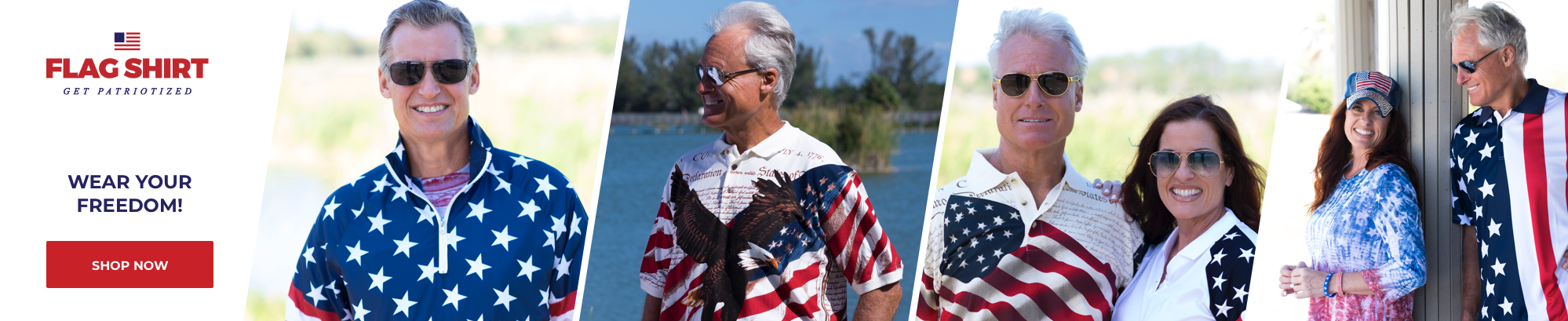 The Flag Shirt - Wear Your Freedom