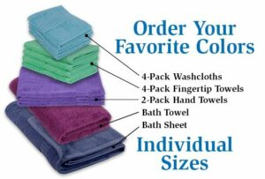MyPillow Individual Towels